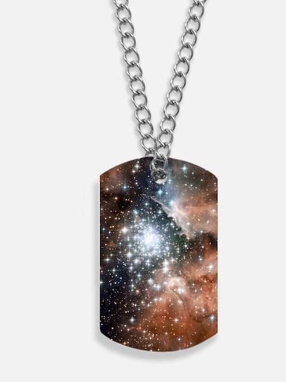 NGC 3603 Nebula Dog Tags