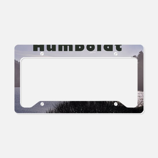 Humboldt County Lake, Green T License Plate Holder