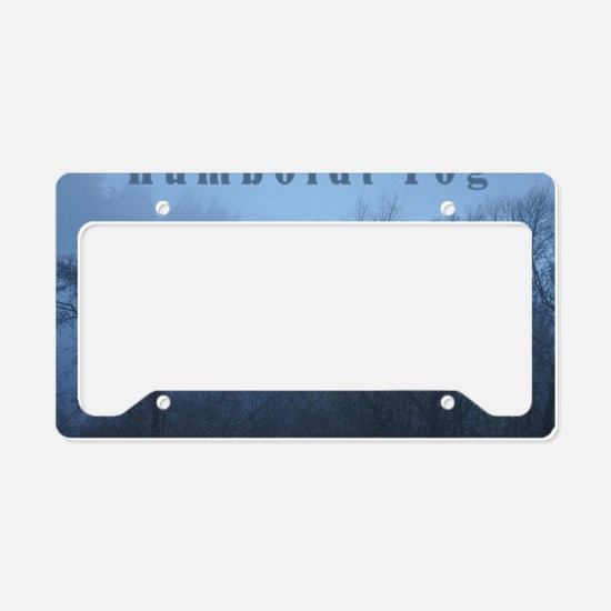 Humboldt Fog License Plate Holder