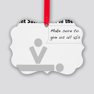 Patient Satisfaction in the ER Picture Ornament