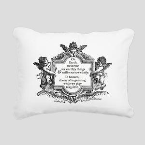 Ukulele Benediction Rectangular Canvas Pillow