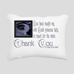 Moondreams Friend Rectangular Canvas Pillow