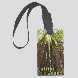 California Redwoods Large Luggage Tag