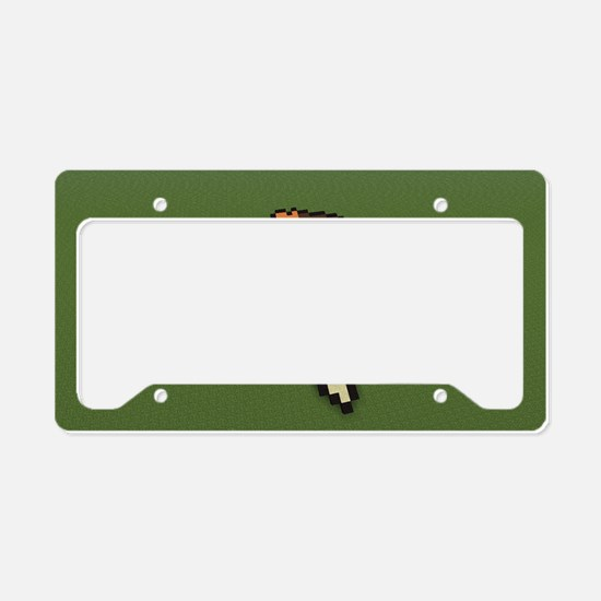Hedgehog License Plate Holder