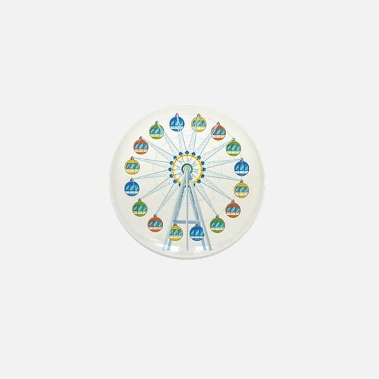 Ferris Wheel Mini Button