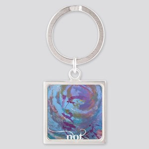 Progress Not Perfection Square Keychain