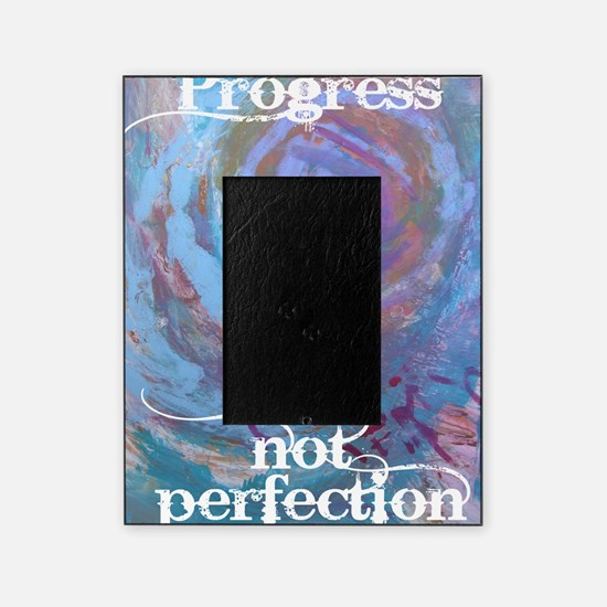 Progress Not Perfection Picture Frame