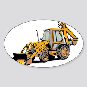 Earth Mover Sticker (Oval)