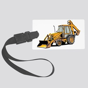 Earth Mover Large Luggage Tag