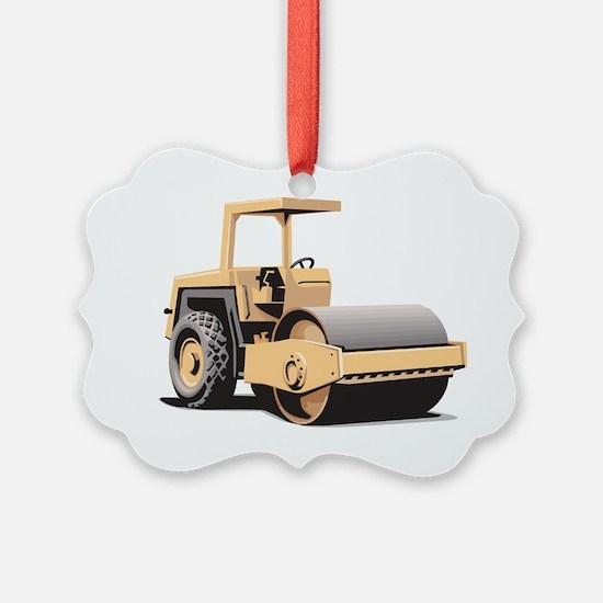 Paving Machine Ornament