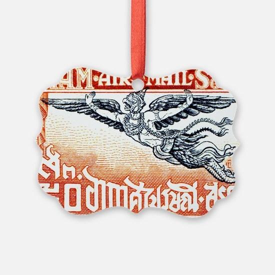 Antique Thailand 1925 Garuda Post Ornament