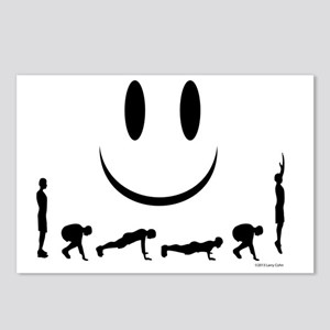 Burpees Postcards (Package of 8)