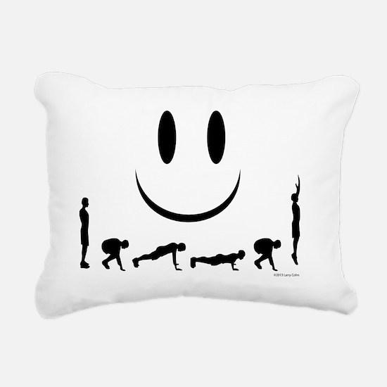 Burpees Rectangular Canvas Pillow