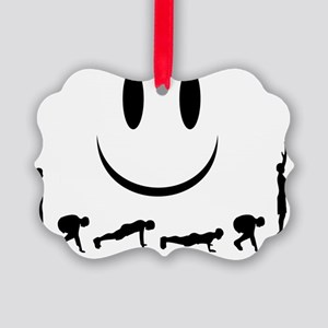Burpees Picture Ornament
