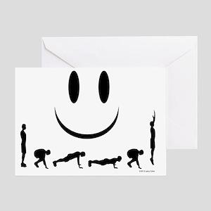 Burpees Greeting Card