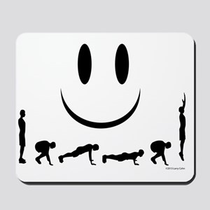 Burpees Mousepad