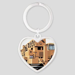 Crane Heart Keychain