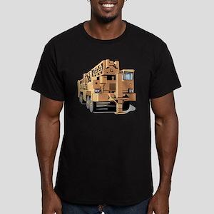 Crane Men's Fitted T-Shirt (dark)