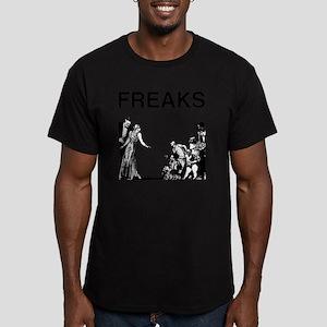 FREAKS design Men's Fitted T-Shirt (dark)