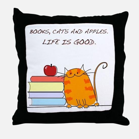 lifeisgood Throw Pillow