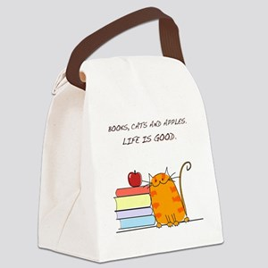 lifeisgood Canvas Lunch Bag