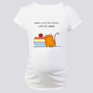 lifeisgood Maternity T-Shirt
