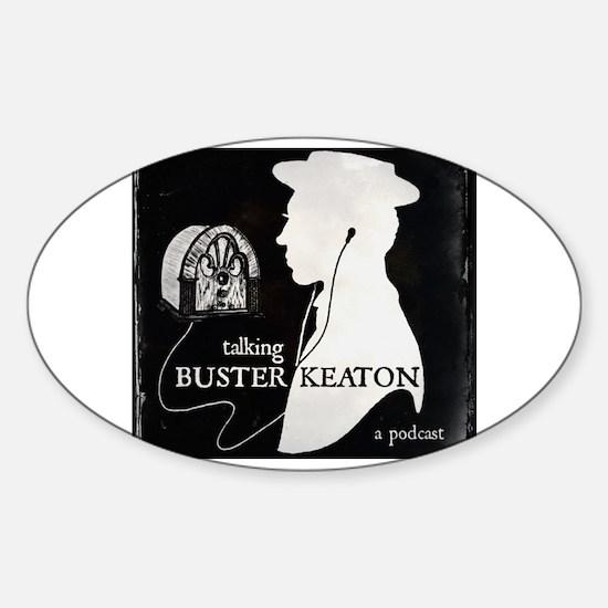 Unique Podcast Sticker (Oval)