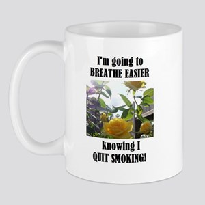 BREATHE EASIER QUIT SMOKING Mug