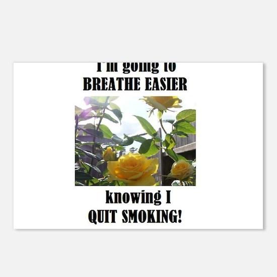 BREATHE EASIER QUIT SMOKING Postcards (Package of
