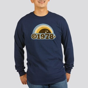 1978 Long Sleeve Dark T-Shirt