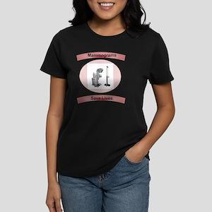Mammograms Save Lives Women's Dark T-Shirt