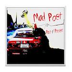 Mad Poet - Tile Coaster