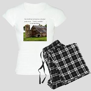 God Made a Farmer Women's Light Pajamas