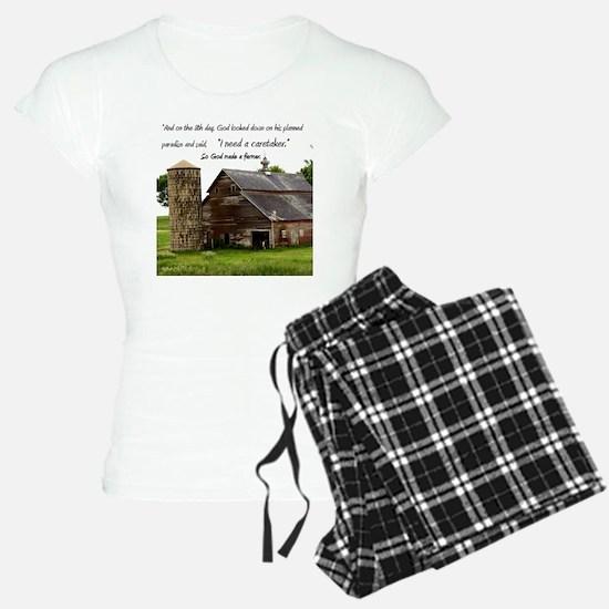 God Made a Farmer Pajamas