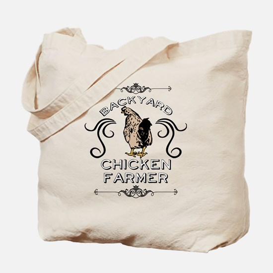 Backyard Chicken Farmer Tote Bag