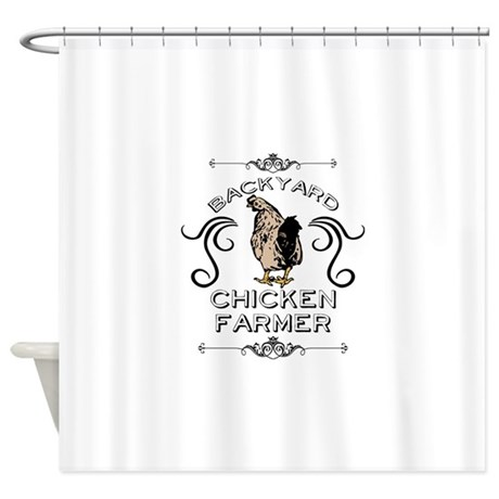 Chickens Shower Curtains CafePress