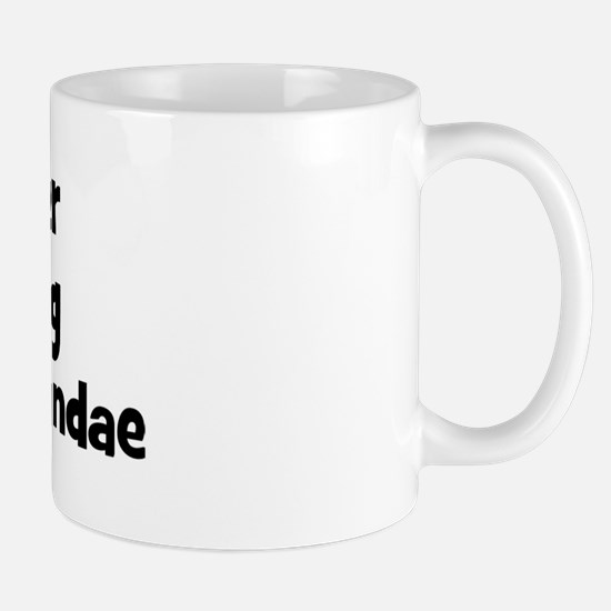 Rather be eating Hot Fudge Su Mug