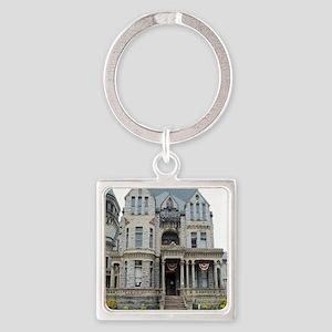 Mansfield Reformatory Square Keychain