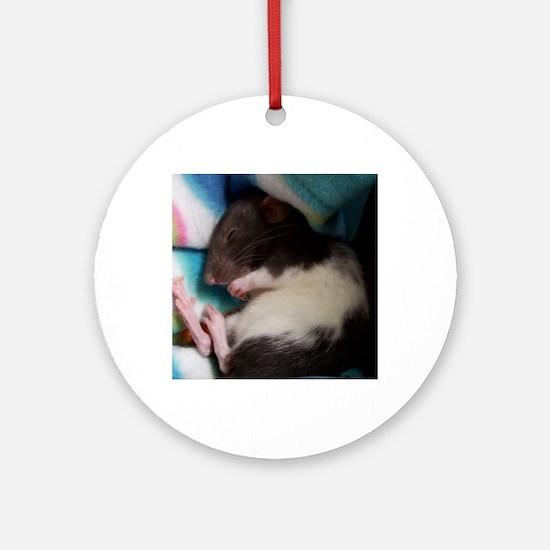 Mitsy Round Ornament