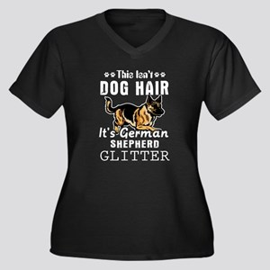 This isn't dog hair it's German Plus Size T-Shirt