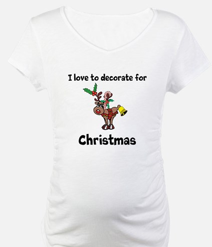 I love to decorate for Christmas Shirt