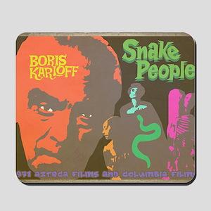 Snake People Mousepad