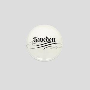 Sweden Gothic Mini Button