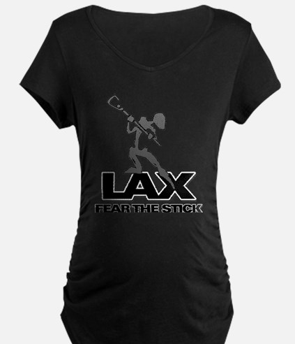 Abstract LAX Fear The Stick T-Shirt