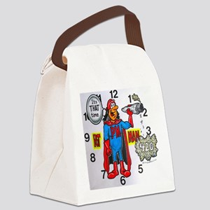 time for potman Canvas Lunch Bag