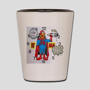time for potman Shot Glass