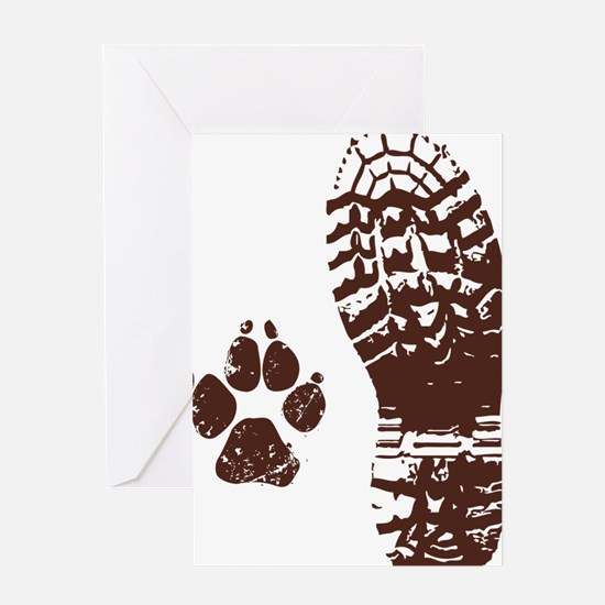 Boot n Paw Greeting Card