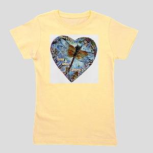 heart faith courage Girl's Tee