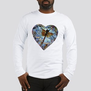 heart faith courage Long Sleeve T-Shirt