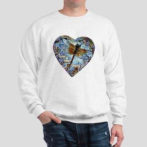 heart faith courage Sweatshirt